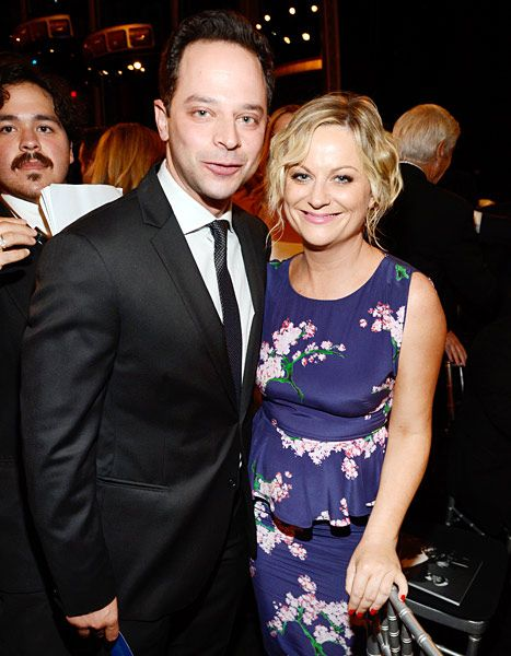 Amy Poehler and Nick Kroll... omg. (still broken hearted about Will Arnett, but this is a GOOOOOD bandaid)