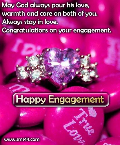 congrats on your engagement congratulations on your engagement sms messages cards engagement sms the simple things