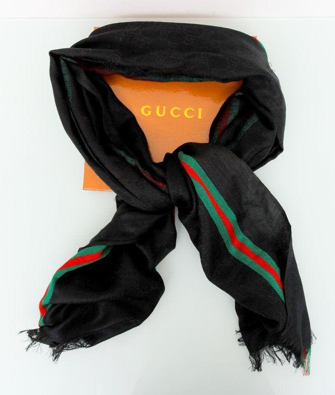 Шарф Gucci осенний. Размер 180х80см #18791