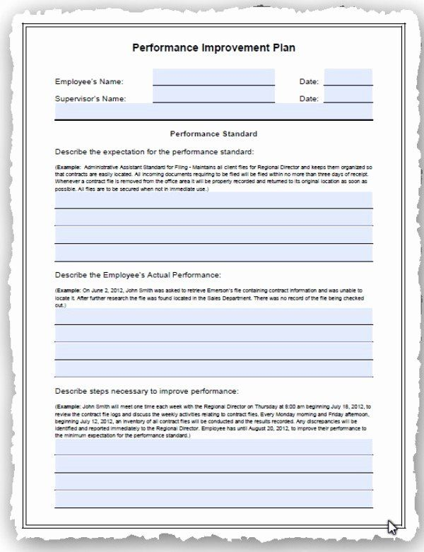 Performance Development Plan Template Lovely Employee Performance Improvement And Simple Business Plan Template Action Plan Template Project Planning Template