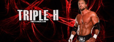 Triple h Red Facebook Timeline Cover