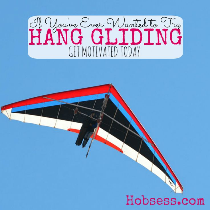 Is hang gliding on your bucket list? Put that fear away and let's get started. Today.