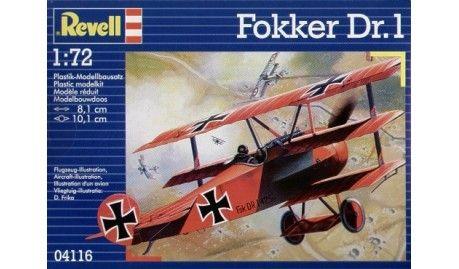 Revell - 4116 - Maquette d'avion / Aircraft Model kit- Fokker Dr I Triplan - 1/72