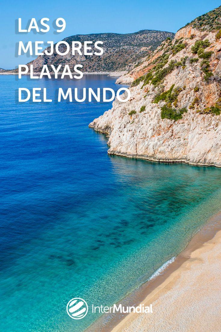 Los bloggers de #viaje eligen las 9 mejores playas del mundo. Descúbrelas visitando el link de la foto (Playa de Kaputas, Turquía)