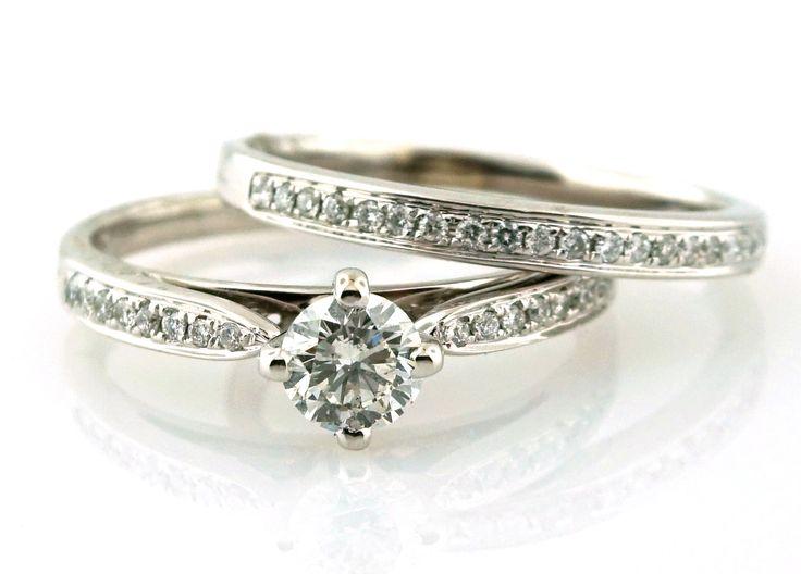 Allurez 14kt White Gold Multi-layered Daisy Flower Fashion Ring - UK G 1/4 - US 3 1/2 - EU 45 3/4 Ht9FbY
