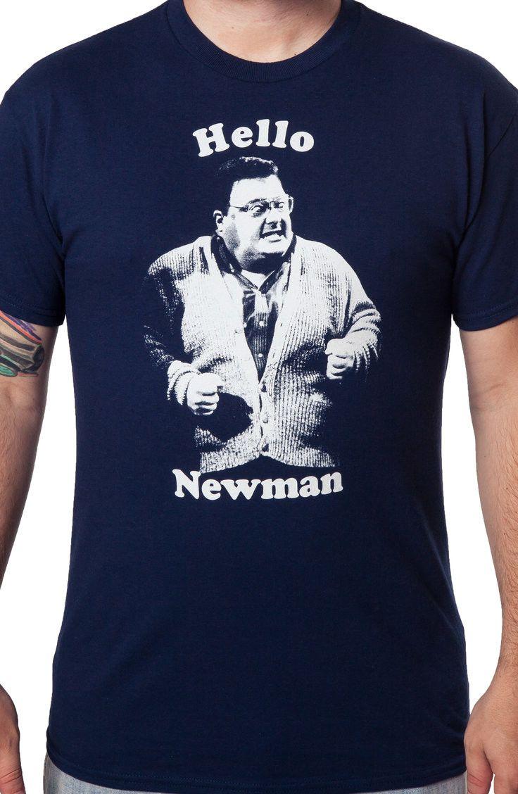 Hello Newman Shirt: Seinfeld Mens T-shirt