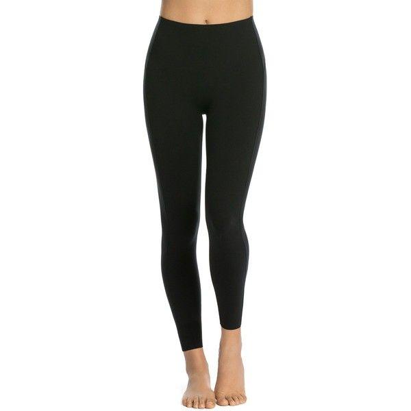 Spanx Everywear Icon Leggings (€100) ❤ liked on Polyvore featuring pants, leggings, black, spanx pants, legging pants, spanx and spanx leggings