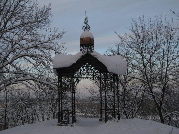 Романтические места Киева