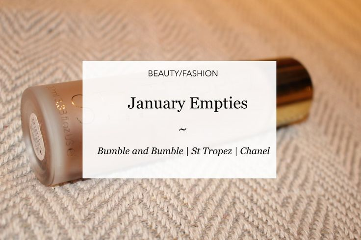 January Empties | Courtney Says What  #blog #blogideas #empties #sttropez