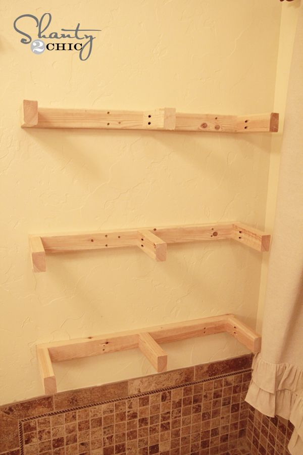 $20 DIY Floating Shelves | Shelves, Kitchens and Walls