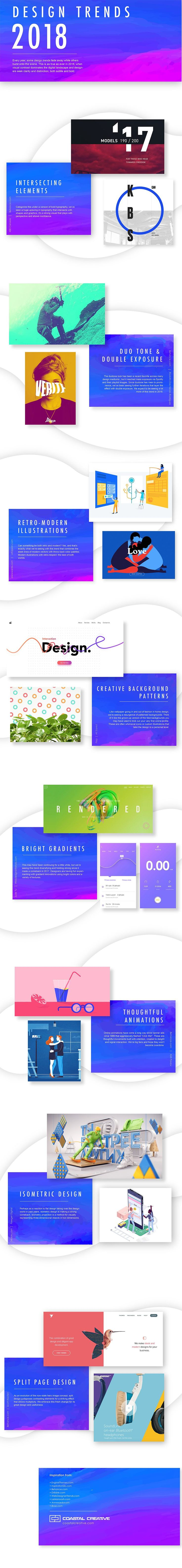 8 Web & Graphic Design Trends That Will Rock 2018 [Infographic] - http://topseosoft.com/8-web-graphic-design-trends-that-will-rock-2018-infographic/