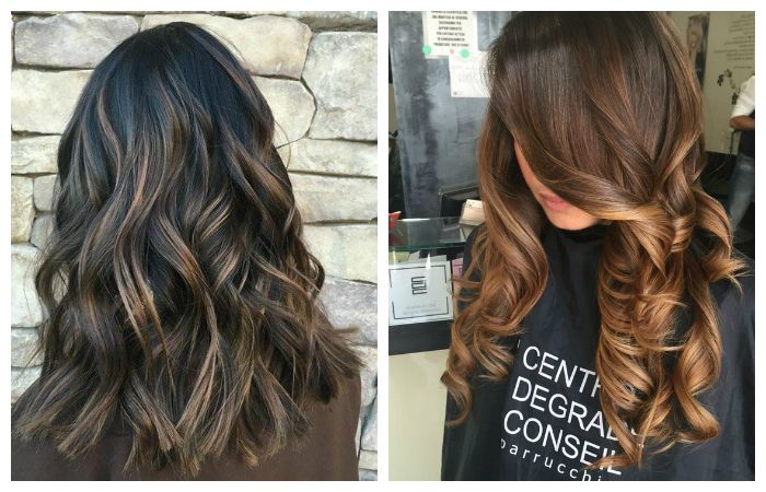 Модные техники покраски волос в натуральные оттенки, фото