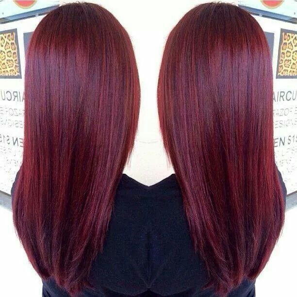 Nice Red Color (Hair)