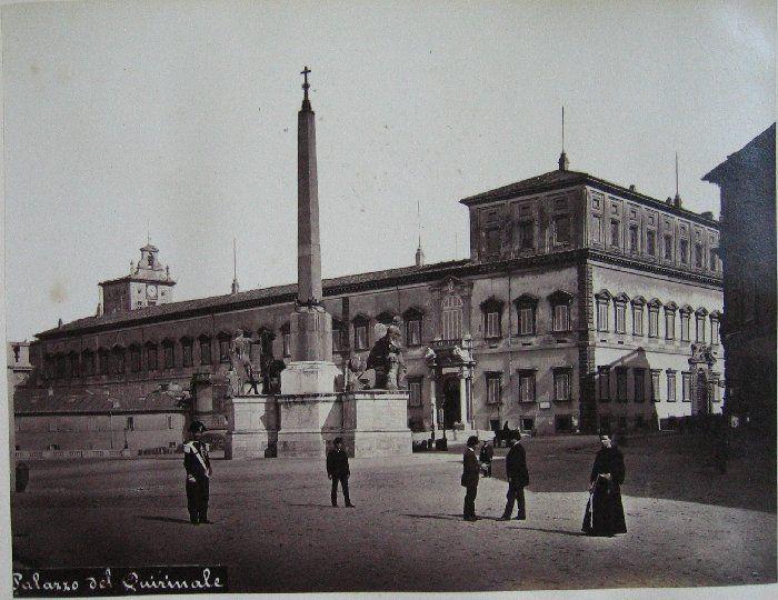 Palazzo del Quirinale ante 1875