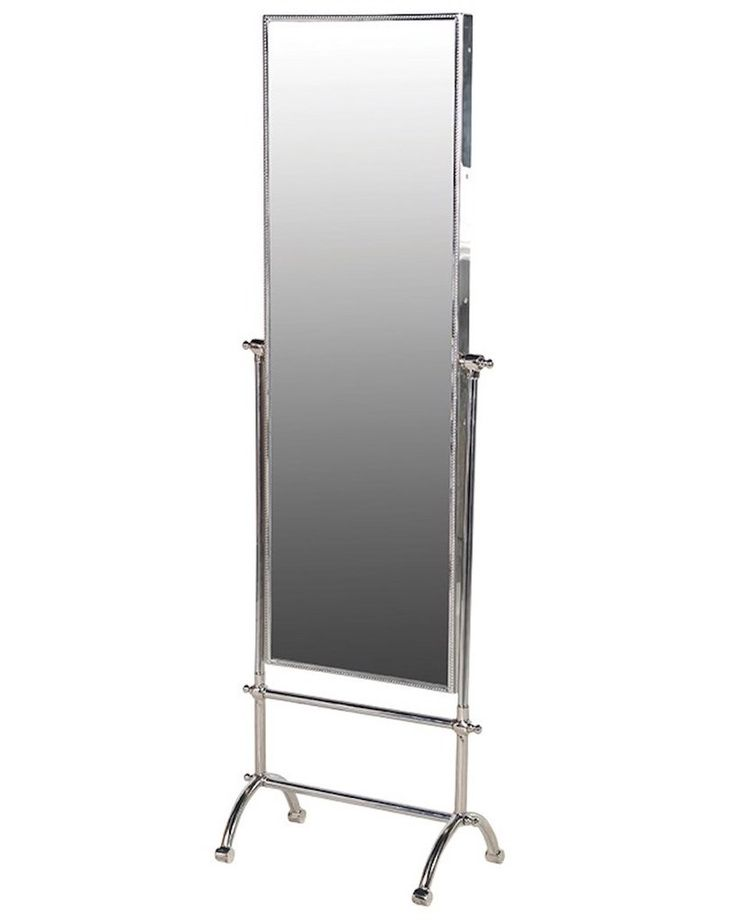 Full Length Cheval Dressing Mirror, Steel Frame H:148cm, Free Delivery
