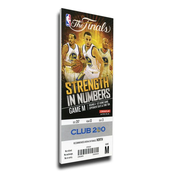 Golden State Warriors 2015 NBA Finals Game 1 Mega Ticket - $89.99