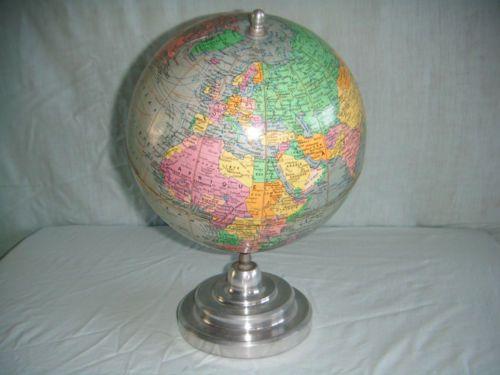 ancien globe terrestre mappemonde earth pinterest globe terrestre terrestre et mappemonde. Black Bedroom Furniture Sets. Home Design Ideas