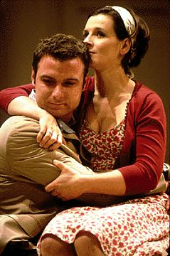 Harold Pinter's Betrayal is a play about snuggling with Liev Schreiber.