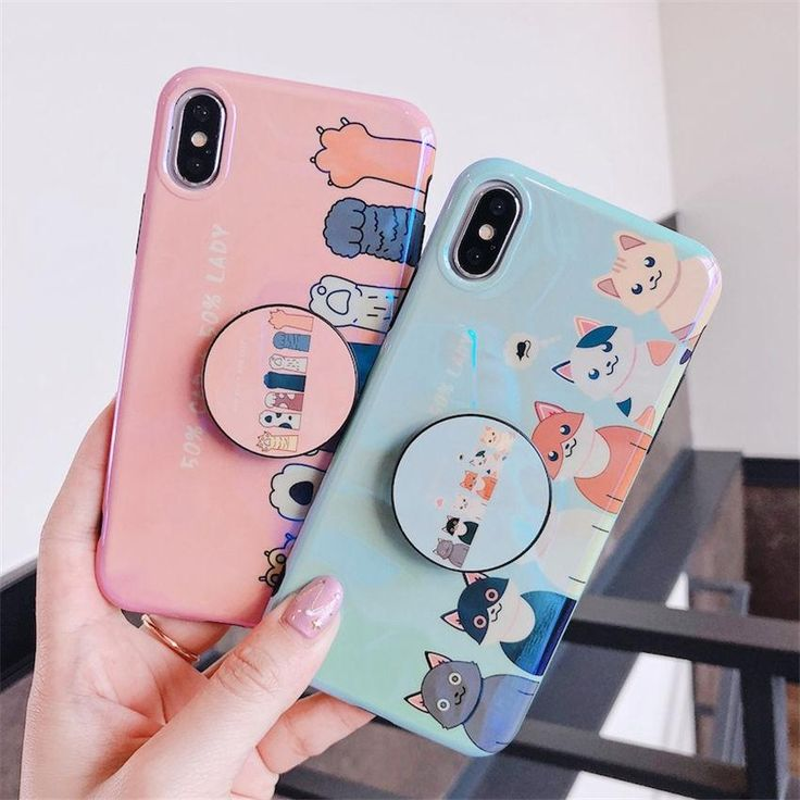 Cat paws phone case for iphone 6 7 8 x iphone cases