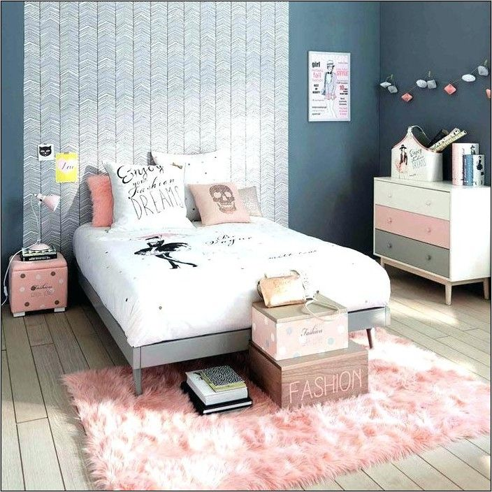 Idee Deco Chambre Fille 12 Ans In 2020 Gray Bedroom Bedroom
