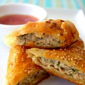 An Introduction to Australian and New Zealand Food: Thai Chicken Sausage Rolls