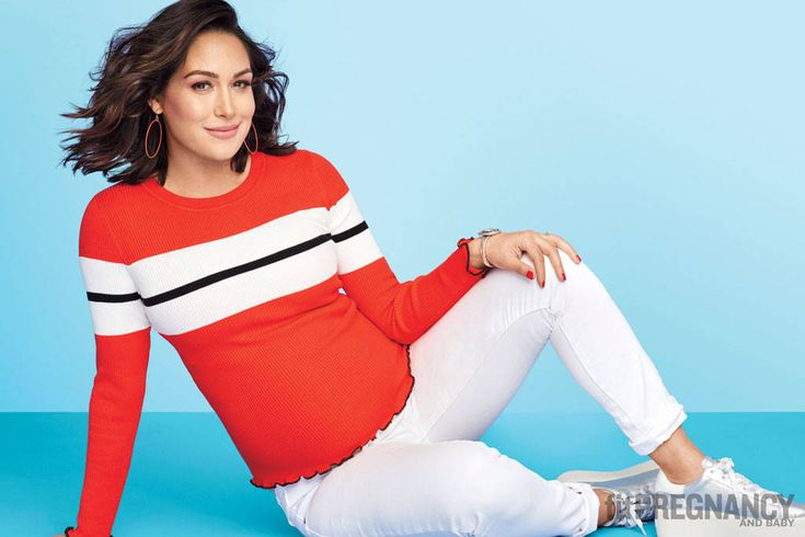 Brie Bella Reveals Daughter's Adorable Name in Fit Pregnancy and Baby Magazine! (Hint: It Starts With a B)