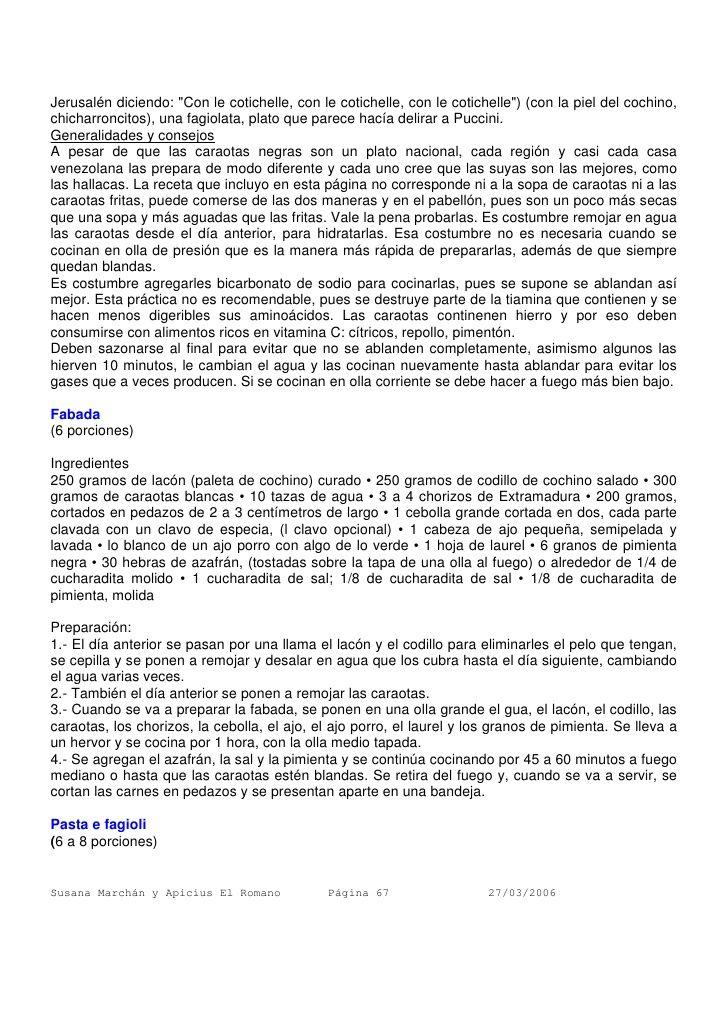 FABADA CARAOTA BLANCA-ASTURIAS/ armando-scannone-recopilacin-de-recetas-67-728.jpg (728×1030)
