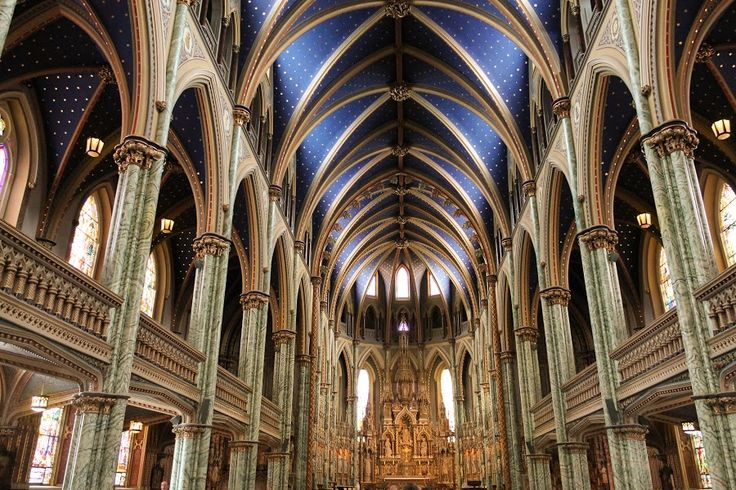 Ottawa Cathedral by Voicu Lupan - Buildings & Architecture Places of Worship ( , building, interior, worship )