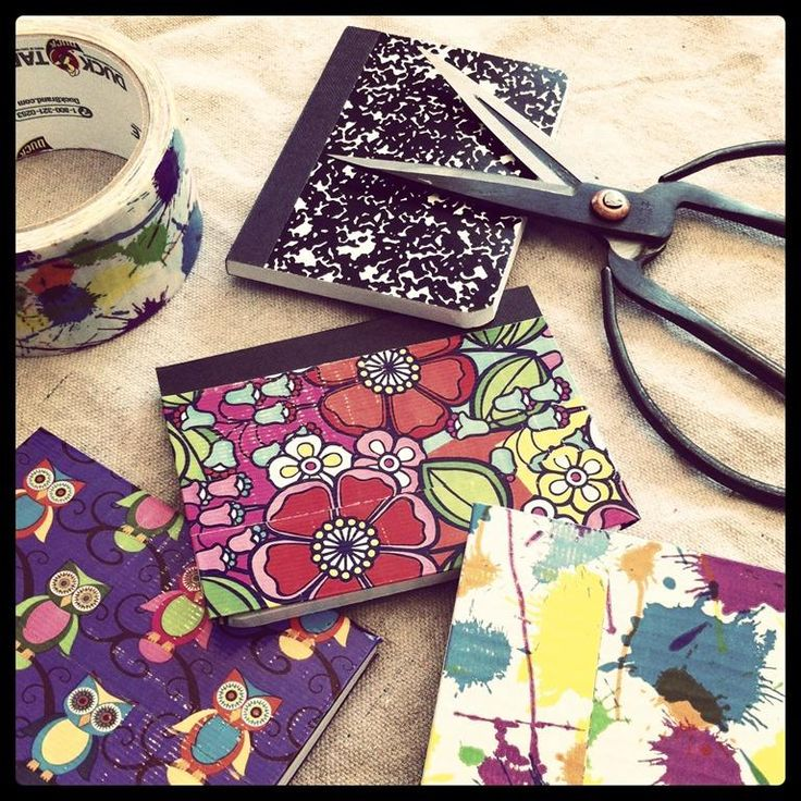 122 best ideas about diy book cover on pinterest fabric for Duck tape craft book