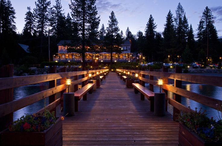 One of the best places on the north shore of Lake Tahoe.  They even have Valet parking for boats!