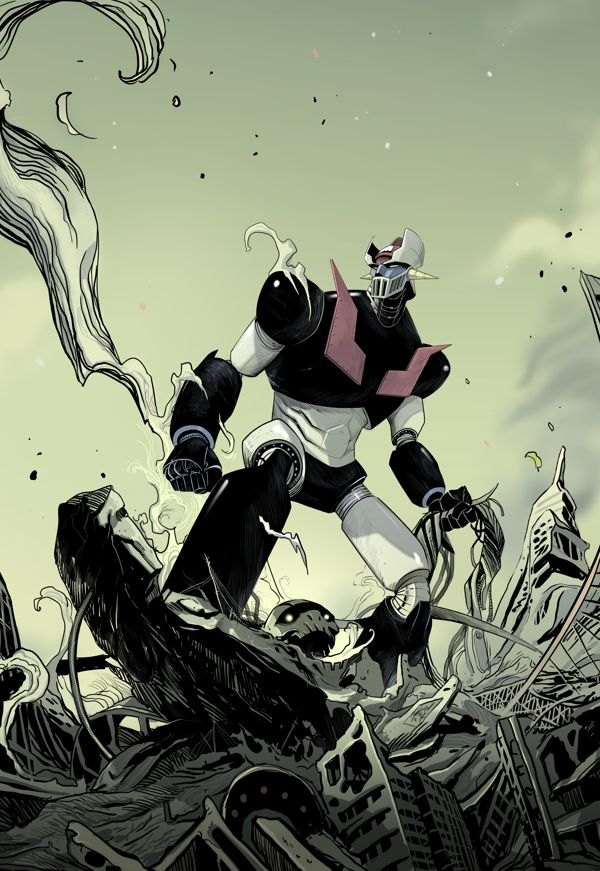 #Mazinger z by Dan Mora, via Behance