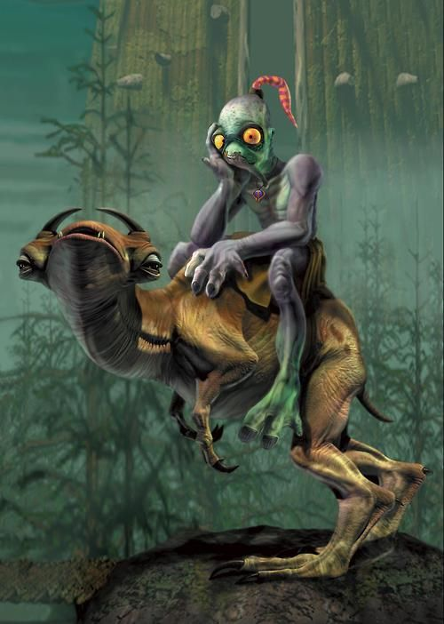 Oddworld: Abe's Oddessy oh my gosh I love this game!!