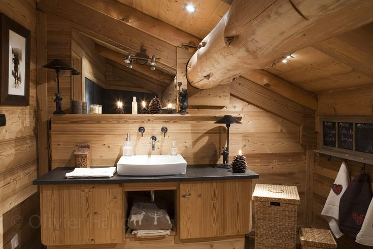 chalet les pins meuble salle de bains chalet cortina pinterest. Black Bedroom Furniture Sets. Home Design Ideas