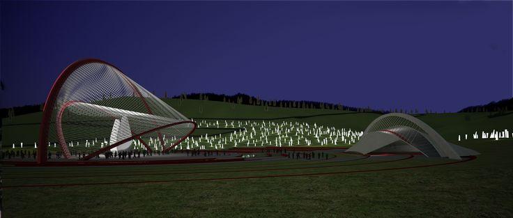 Gelibolu Ağadere Milli Parkı Fikir Yarışması-Mansiyon Ödülü 2012