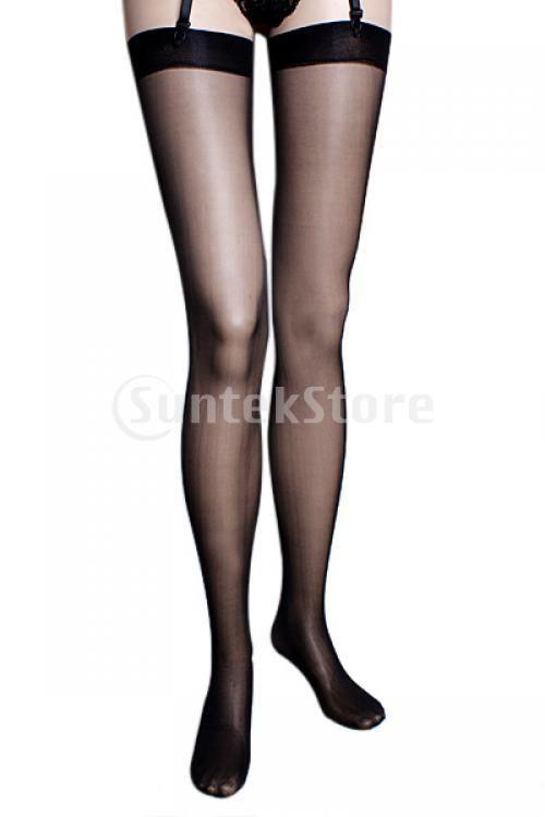 Дешевое Бесплатная доставка сексуальный черный Sheer Топ бедро высокие чулки, Купить Качество Чулки непосредственно из китайских фирмах-поставщиках:                    Сексуальные и красивые бедра высокие чулки . Элегантный дизайн , вы будете более сексуа