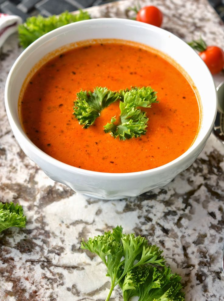 Simply Sweet Tomato Soup