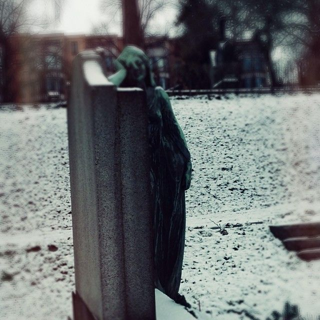 Someone is having a hangover at the graveyard #vårfrelsesgravlund   Flickr - Photo Sharing!