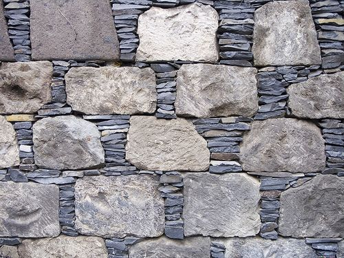 by RoystonVasey and are of work created by Andy Goldsworthy at Tilberthwaite Touchstone Fold. - dry stone wall checkerboard pattern by bearded avenger