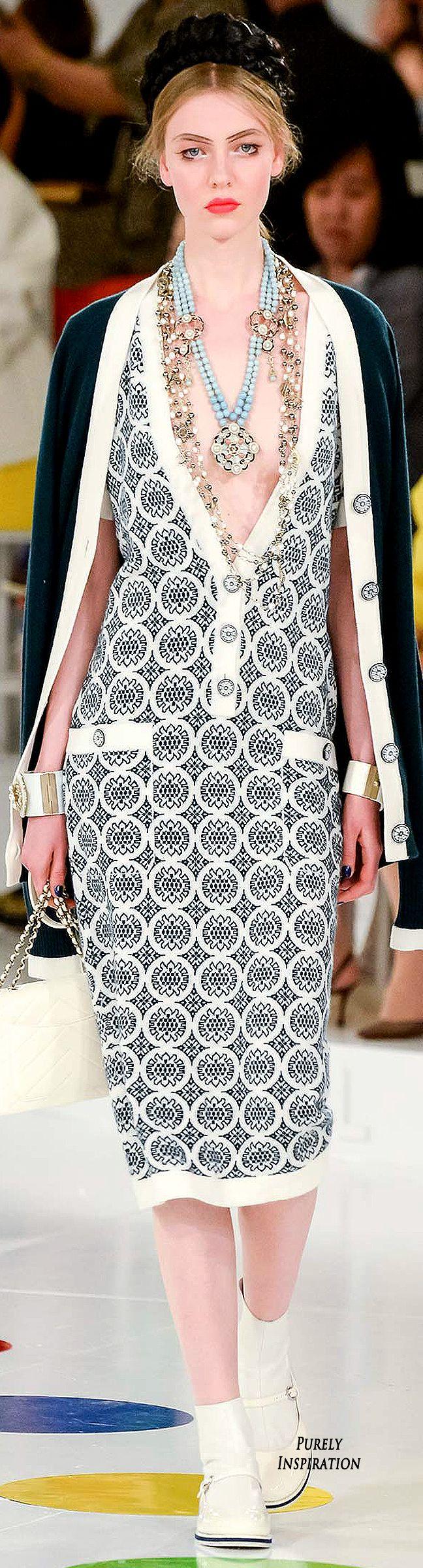 Chanel Resort 2016 Women's Fashion RTW | Purely Inspiration