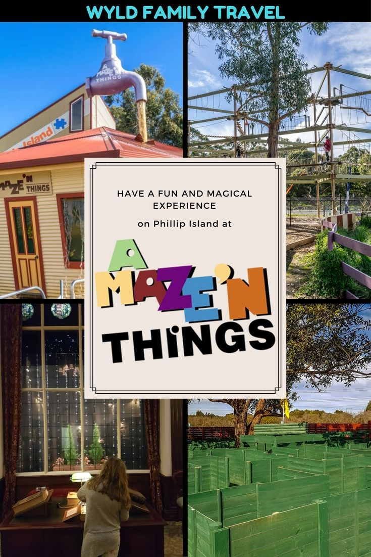 Be amazed be dazzled by magic and illusion at Amaze 'N Things on Phillip Island Australia. Play mini golf or test your nerve on the skytrail. Amazing way to spend a day.  ----------------------------------------------------Things to do in Phillip Island   Phillip Island attractions   Where to stay in Phillip Island   Phillip Island with kids   Penguin parade Phillip Island  