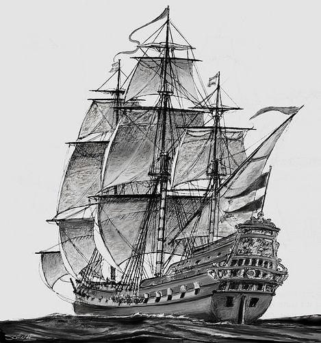 Dutch warship