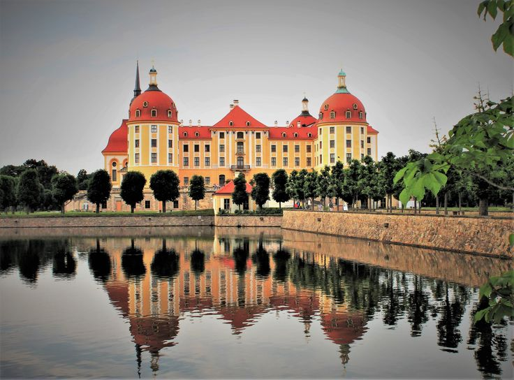 Moritzburg castle, near Dresden, Germany.