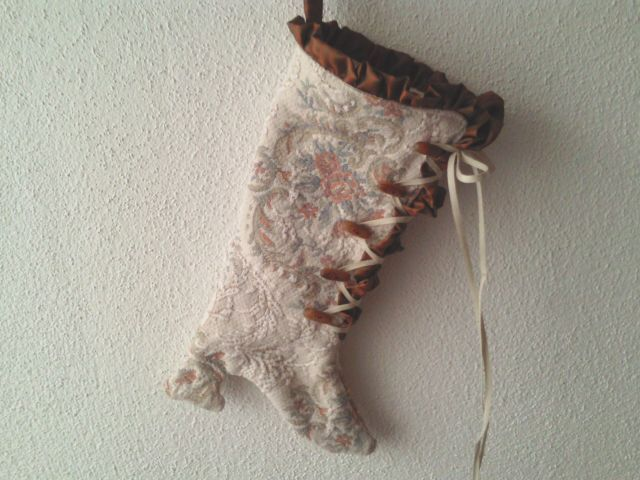 Nikolausstiefel - ♥ Viktorianische Stiefelette 14-04 - ein Designerstück von raritaeten-kammerl bei DaWanda