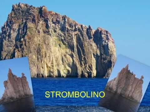Kalábrie, Liparské ostrovy, Stromboli - YouTube