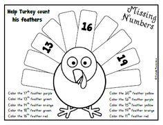 Krazee 4 Kindergarten: Thanksgiving Freebie- Common Core Aligned