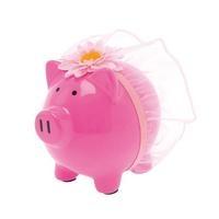 Sparschwein für das Hochzeitskleid