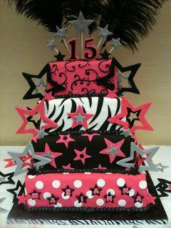 Pastel #Estrellas y #Plumas #Cakes #Pasteles y #Cupcakes para #Bodas y #15Años #Fondant #wedding #quinceanera | DaVinci http://bit.ly/1v3zvMi