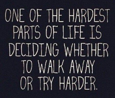 I wish I knew how to walk away and not keep getting hurt.