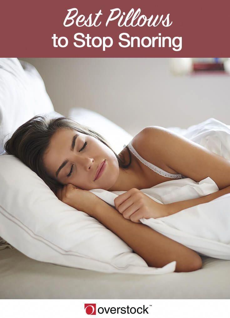 Find The Best Pillows To Stop Snoring Having A Snoring Problem