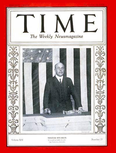 Nicholas Longworth -- Dec. 16, 1929